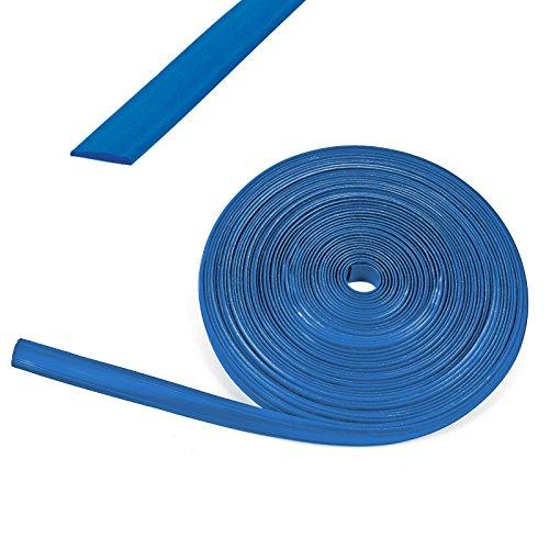 Preisvergleich Produktbild 10 Meter Kederband 12 mm blau Kunststoff Leistenfüller für Wohnwagen und Wohnmobil