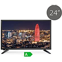 "TV Led FullHD TDSystems 24"" pulgadas Full HD K24DLS6F (Resolución 1920*1080 /VGA 1/HDMI 1/Eur 1/ USB Reproductor grabador) televisor led Full HD"
