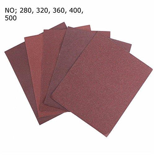 Saver 230mm x 280mm Schmirgelpapier Schleifpapier Schleifwerkzeug 320/400/500 Grit