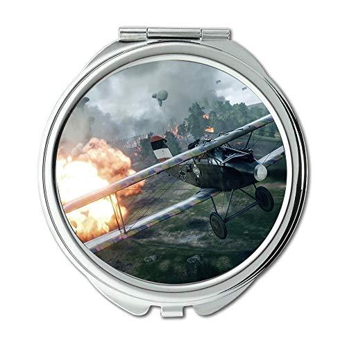 Yanteng Kampfflugzeuge, Spiegel, Compact Mirror, Kämpfer Christina Aguilera, Taschenspiegel, tragbarer Spiegel