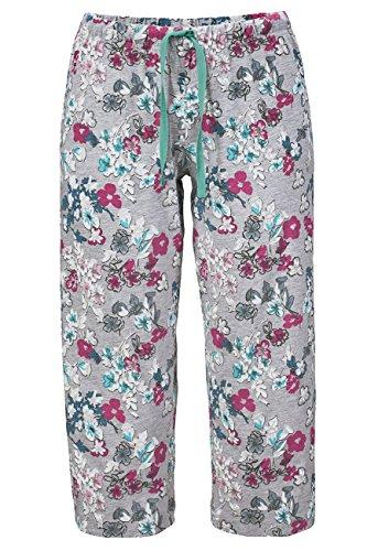 Lascana Pyjama Unterteile Sweet Dreams, grau-mehrfarbig, 36-38