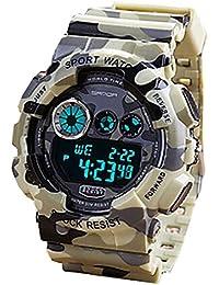 Sport Watch Camouflage militaire Digital Design Afficher le Calendrier de YPS Hommes / Chronographe / alarme WTH2921