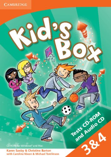 Kid's Box Levels 3-4 Tests CD-ROM and Audio CD - 9781107618060