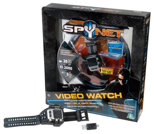 Giochi Preziosi 41756 Spy Net - Video Watch Agente Segreto