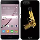 DesignedByIndependentArtists Custodia per Huawei Nova 2 - Pistola D'oro by les caprices de filles