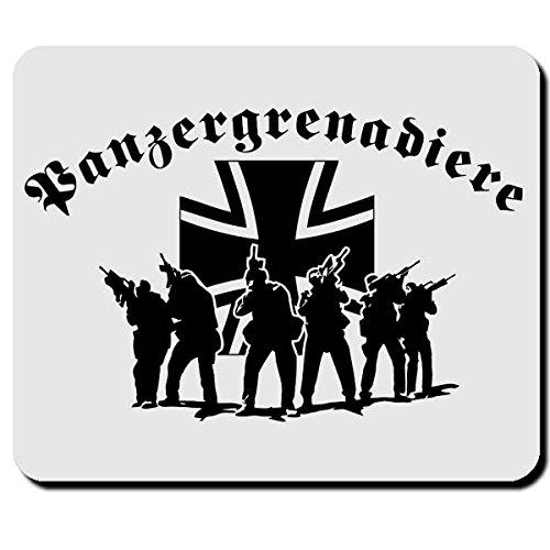 Panzergrenadiere Elite Einheit PzGren Soldaten BW Bundeswehr - Mauspad Mousepad #2627