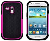 G-Shield Hülle für Samsung Galaxy S3 Mini Stoßfest Schutzhülle (I8190) - Rosa