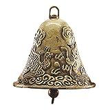 Tutoy 60X65Mm Antike Goldene Kuhglocke Nosiemaker Zinc Alloy Animal Sheep Dog Bell Cowbell Dekorationen