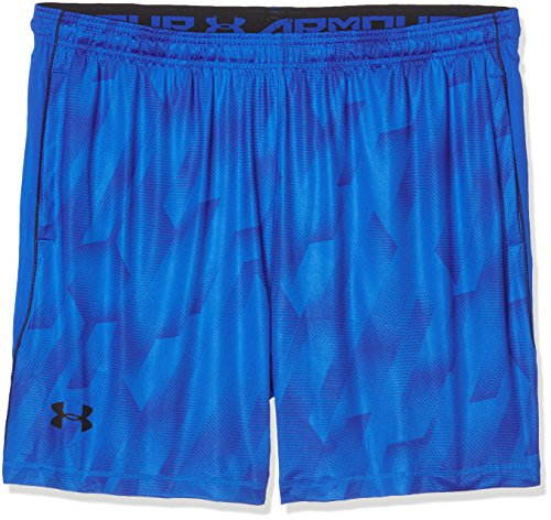 Under Armour Shorts Raid 8 Printed Herren Fitness Hosen & Shorts Blue Marker, S, 1257826-789