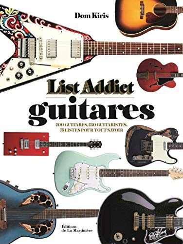 List addict guitares