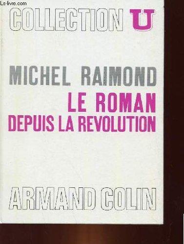 Le Roman Depuis La Revolution [Pdf/ePub] eBook