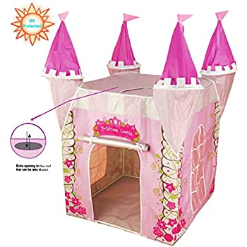 UV Protected Childrens Pop Up Play Tent Designed like a Princess Castle Girls Toy Play  sc 1 st  Amazon UK & UV Protected Childrens Pop Up Play Tent Designed like a Princess ...