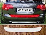 passgenau für Audi A4 Avant, Typ B7, 2004 - 2008 Lackschutzfolie Ladekantenschutz transparent