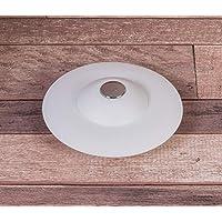 UMBRA Flex Drain Stop. Bonde de baignoire et douche, avec fonction attrape-cheveux, coloris blanc