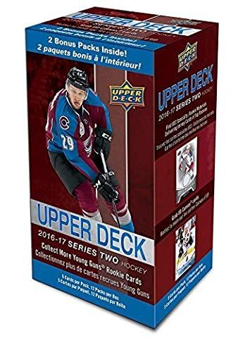 2016/17 Upper Deck Series 2 Hockey Blasterbox NHL (12-Pack Box)