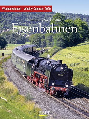 Eisenbahnen 2020: Foto-Wochenkalender