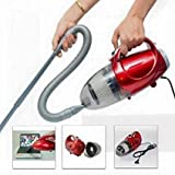 Shopure Skyline Plastic 220-240V 50 HZ 1000W Blowing and Sucking Dual Purpose Vacuum Cleaner (Red)