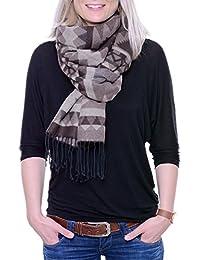 Lykkja - weicher XL Schal, Schultertuch in trendigem Farb-/Mustermix