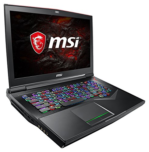 MSI GT75VR 7RF-015DE Titan Pro (43,9 cm/17,3 Zoll/120Hz) Gaming-Notebook (Intel Core i7-7820HK, 32GB RAM, 512 GB PCIe SSD +  1 TB HDD, Nvidia GeForce GTX 1080, Windows 10 Home) schwarz GT75