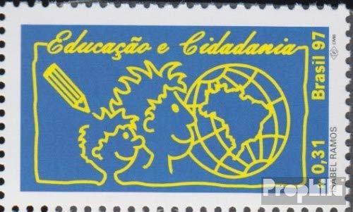 Prophila Collection Brasilien 2794 (kompl.Ausg.) 1997 Ausbildung und Bürgerrechte (Briefmarken für Sammler)