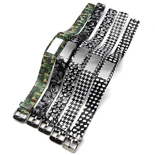 Mens Navy Blue Dog (Fit-power Silikonarmbänder / Ersatz-Band mit Verschlüssen, für Vivofit 2/Garmin Vivofit 2,Handgelenk-Band (ohne Tracker), 5F)