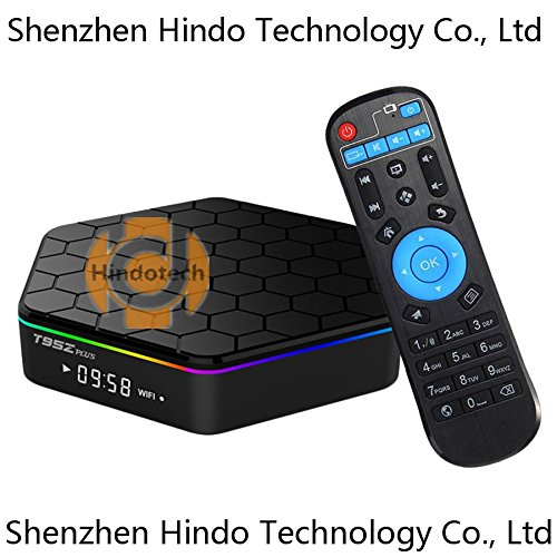 hindotech t95z Plus 3 GB RAM 32 GB ROM Amlogic S912 Octa Core Android TV Box Media Player 4 K HD 2,4 G & 5G WIFI BT4.0 Gigabit LAN Android 7.1 Smart TV Box