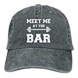 Meet Me at The Bar Snapback Cotton Cap