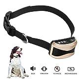 ZRYstore Digital Anti bark Dog Training Kragen-sicher und Human mit Ton und Vibration-wasserdicht und wiederaufladbare-geeignet für Hunde 15-150 PFD. mit 7 Level Vibration und Beep Training