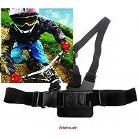 Rollei Bullet 3S/4S/5S S50Chest Mount Gopro cintura toracica Mountain Bike Cube Rosso Wild TREK Haibike