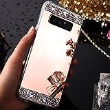 Coque Samsung Galaxy Note 4,Miroir Coque pour Samsung Galaxy Note 4,SaKuLa...
