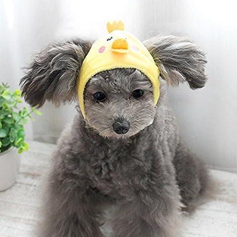 Animal Chapeau Dessin animé Modèle Animal Tête Coque Sweet Cute capuchon pour chiens de petite taille Chat pour Teddy