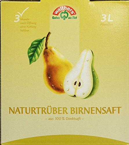 Walthers Birnensaft Direktsaft natur, 2er Pack (2 x 3 l Saftbox) -