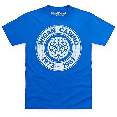 Birthplace Of Northern Soul T-Shirt, Herren Royalblau