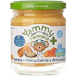 Yammy, Pack Potitos Ecológicos Menú (Verduras, Pollo, Ternera y Lubina) - 12 de 195 gr. (Total 2340 gr.)