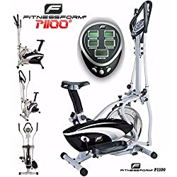 Fitnessform® P1100 Cross Trainer 2-in-1 Fitness Elliptical Exercise Bike (New Model)