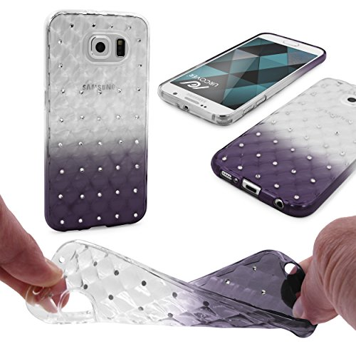 Urcover® Apple iPhone 7 / 8 Soft Case in Rosa | TPU Diamond 3D Gradient Cover | Trendy Handyschutz Zubehör Handy-Cover Schutz-Hülle Schale Schwarz
