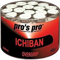 60 Overgrip Ichiban Tape blanco tennis grips Cinta para mango de raqueta de tenis