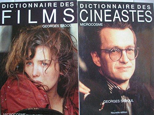 georges sadoul - dictionnaire des cinéastes + dictionnaire des films (nouvelle édition revue et augmentée par émile breton)