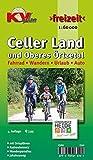 """Celler Land und """"Oberes Örtzetal"""": 1:60.000 Freizeitkarte inkl. Rad- und Wanderrouten mit 13 Ortsplänen in 1:25.000 (KVplan Heide-Region)"""