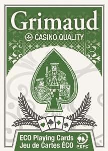 Grimaud - P390170 - Jeu de cartes - Poker - 54 cartes - PEFC