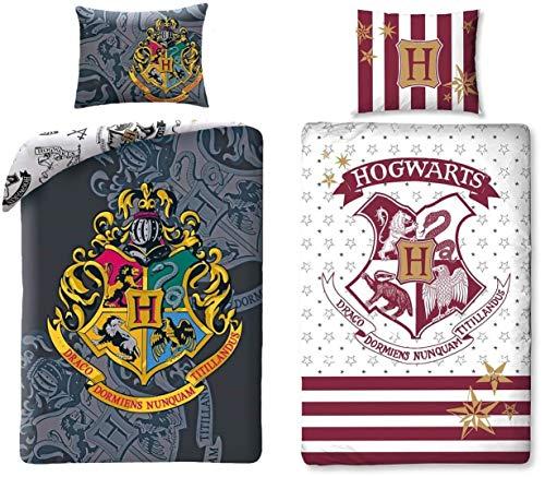 rainbowFUN.de Harry Potter - 2 x Bettwäsche, Bettwaren Set, 140x200 cm