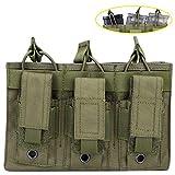 Aoutacc Custodia magica doppia/tripla, custodia doppia pila può contenere caricatori fucile e pistola mag (Triple-Od)