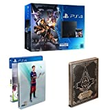 PlayStation 4 - Konsole (500GB) inkl. Destiny: König der Besessenen [CUH-1116A] + FIFA 16 - Steelbook Edition + Assassin's Creed Syndicate - Special Edition inkl. Steelbook