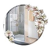 Yuan Spiegel Glas Anti-Fogging Feine Carving Feine Farbe Umweltschutz Material High Definition Transparent Frische Natürliche Einfache Installation 5 Arten können für verschiedene Anlässe ausgewählt w