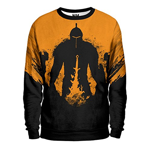 DARK SOULS BONFIRE Felpa - Sweatshirt Unisex - Videogiochi Playstation Xbox Demon's Souls Action RPG Prepare To Die Bloodborne Artorias Solaire