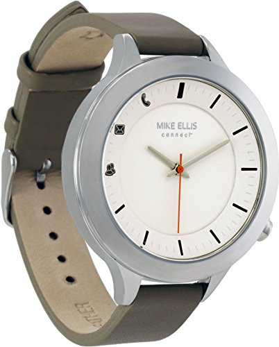 Mike Ellis Connect L4831E MEC Uhr Liz Edelstahl, Leder Silber/Taupe