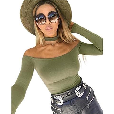 Internet Frauen Einfache feste Farbe Schal Strampler (S,