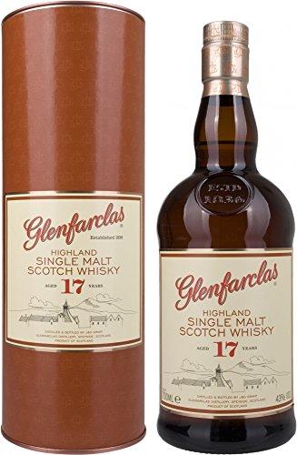 Glenfarclas 17 Años Escocés Malta Whisky - 700 ml