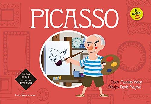 Picasso (Los más GRANDES para los más PEQUEÑOS) por Mariano Veloy Planas