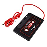 Sedeta® Car Cassette Adapter AudioTape Stereo Adapters For iPod Smartphones CD MD MP3/4 AUX 3.5mm Jack